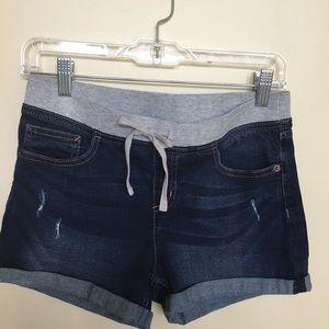 Justice Cuffed Stretch Shorts. Girls 14 Plus🌹